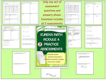 2nd Grade Eureka Math Module 4 Practice Assessments 3 Practice Tests
