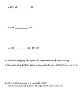 2nd Grade Eureka Math Module 4 Practice Assessments 3 Practice Tests