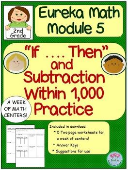 """2nd Grade Eureka Math Module 5 """"If... Then"""" Statements and"""
