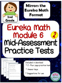2nd Grade Eureka Math Module 6 Mid-Assessment Practice Tests
