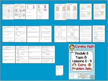 2nd Grade Eureka Math Module 6 Topic B Lessons 5-9  Extra Problem Sets