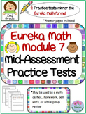2nd Grade Eureka Math Module 7 Mid-assessment Practice Tests