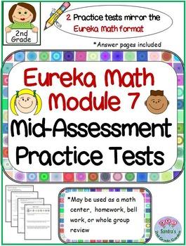 2nd Grade Eureka Math Module 7 Mid-assessment Practice Tests