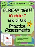 2nd Grade Eureka Math Module 7 Practice Assessments 3 Practice Tests