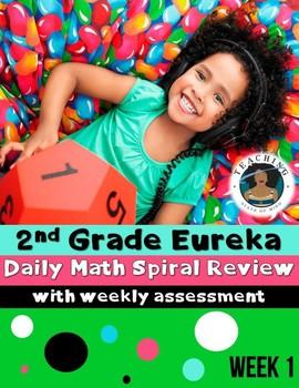 2nd Grade Eureka Math Spiral Review - Week 1