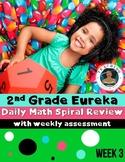 2nd Grade Eureka Math Spiral Review - Week 3