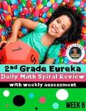 2nd Grade Eureka Math Spiral Review - Week 6
