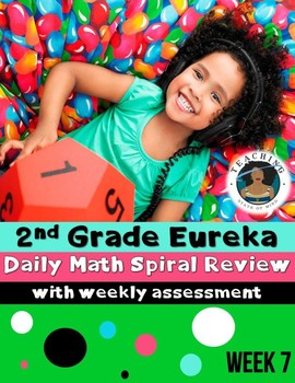 2nd Grade Eureka Math Spiral Review - Week 7