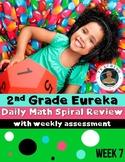 2nd Grade Eureka Math Spiral Review - Week 7