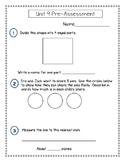 2nd Grade Everyday Math (EDM4) Pre-Assessment Pack (Units 2-9)