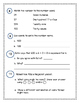 2nd Grade Everyday Math (EDM4) Unit 6 Cumulative Review