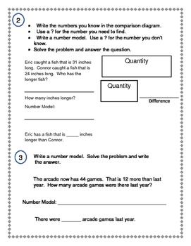 2nd Grade Everyday Math (EDM4) Unit 6 Pre-Assessment
