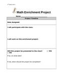 2nd Grade Everyday Math Enrichment Activity - Unit 3 (Money)