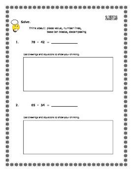2nd Grade - Unit 6 Everyday Math - Practice Test