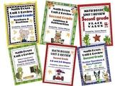 2nd Grade Everyday Math Semester Review ~ Units 1 - 6