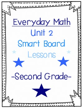 2nd Grade Everyday Math SmartBoard lesson (2.1, Grouping by 10s)
