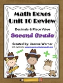2nd Grade Everyday Math ~ Unit 10 Decimals & Place Value