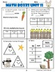 2nd Grade Everyday Math ~ Unit 11: Numbers & Operations Revisited