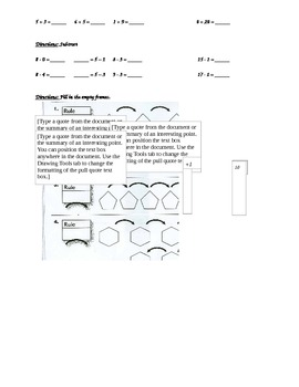 2nd Grade, Everyday Math, Unit 2 Practice Test