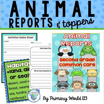 Animal Reports 2nd Grade Informative/Explanatory Writing