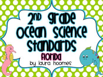 2nd Grade FLORIDA Ocean Standards