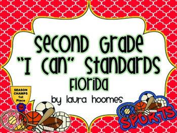 2nd Grade FLORIDA Sports Standards