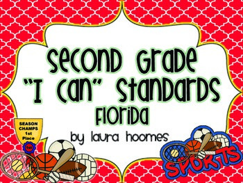 2nd Grade FLORIDA Sports Standards