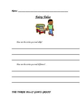 2nd Grade Fairy Tale Unit Common Core Aligned