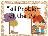 2nd Grade Fall Math Problem of the Day