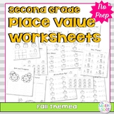 2nd Grade Fall Place Value Worksheets