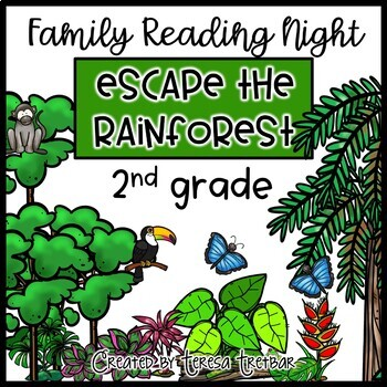 2nd Grade Family Night Escape the Rainforest