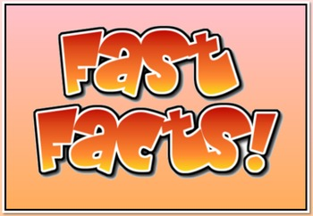 2nd Grade Fast Facts (Powerpoint)
