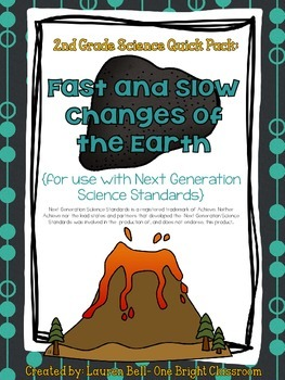 2nd Grade Fast and Slow Changes {Quick Pack: Next Generation Science Standards}