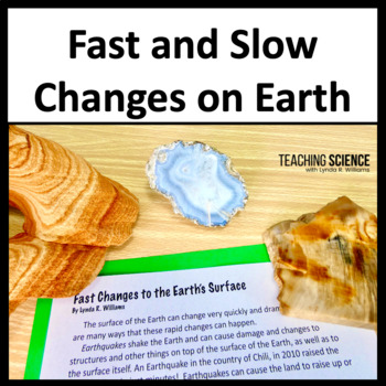 Fast and slow changes teaching resources teachers pay teachers fast and slow earth changes lab and close read ngss 2 ess1 1 sciox Gallery