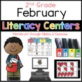 2nd Grade February Literacy Centers