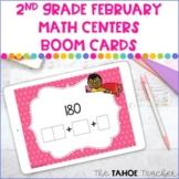 2nd Grade February Math Boom Cards | Digital Math Centers