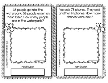 2nd Grade February Math Word Problems