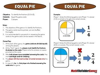 2nd Grade File Folder Math Games