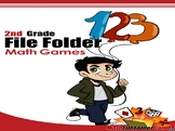 2nd Grade File Folder Math Games