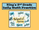 2nd Grade 1st Nine Weeks of Daily Math
