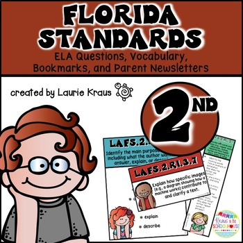 2nd Grade Florida Standards ELA Reading Literature and Inf