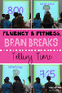 2nd Grade Fluency & Fitness Brain Breaks Bundle