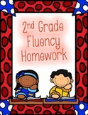 2nd Grade Fluency Homework and Practice