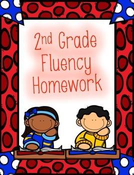 2nd Grade Fluency Homework and Practice