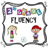2nd Grade Fluency Passages Homework Bundle
