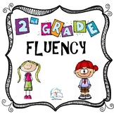 2nd Grade Fluency Passages Homework Bundle