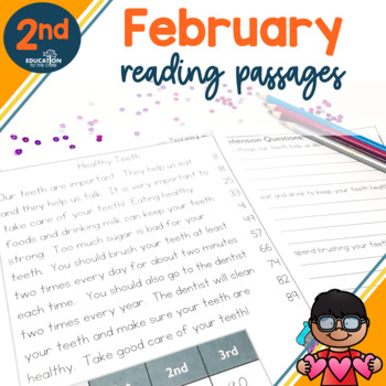 2nd Grade Fluency Passages for February