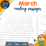 2nd Grade Fluency Passages for March