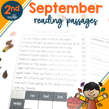 2nd Grade Fluency Passages for September