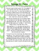 2nd Grade Fluency Passages with Comprehension Questions FREEBIE